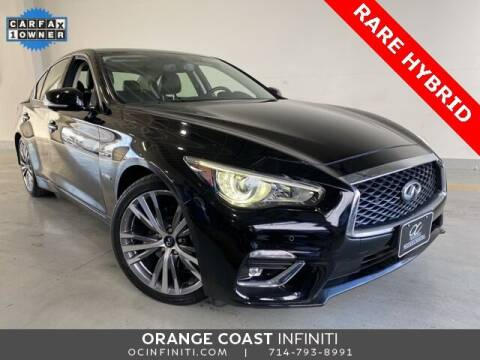 2018 Infiniti Q50 Hybrid for sale at ORANGE COAST CARS in Westminster CA