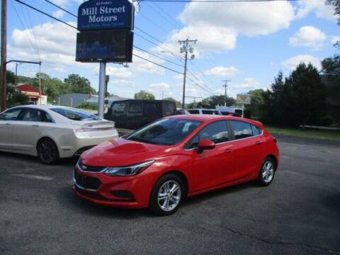 2017 Chevrolet Cruze for sale at Mill Street Motors in Worcester MA