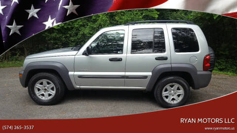 2004 Jeep Liberty for sale at Ryan Motors LLC in Warsaw IN