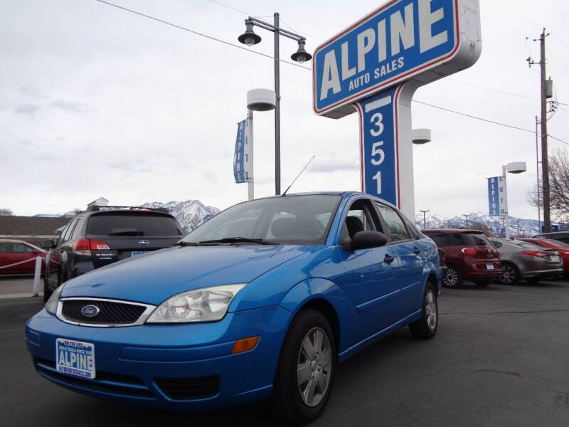 2007 Ford Focus for sale at Alpine Auto Sales in Salt Lake City UT