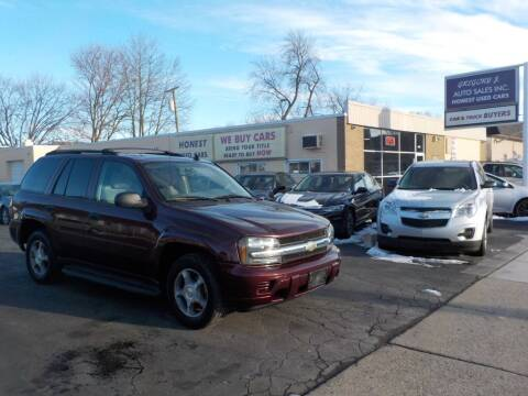 2006 Chevrolet TrailBlazer for sale at Gregory J Auto Sales in Roseville MI
