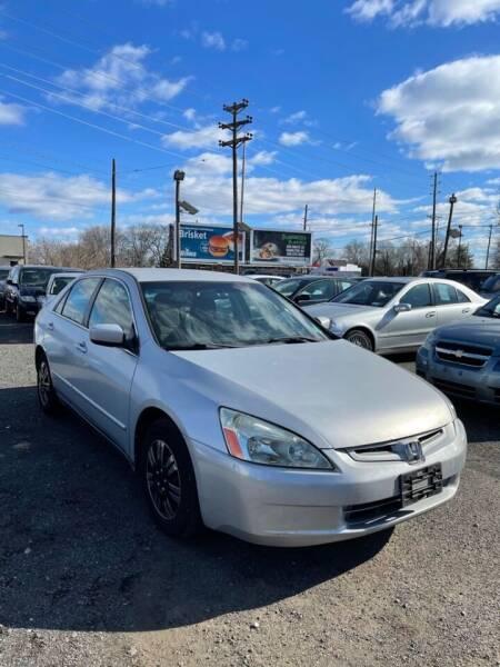 2003 Honda Accord for sale at Hamilton Auto Group Inc in Hamilton Township NJ