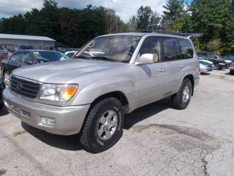 2001 Toyota Land Cruiser for sale at Manchester Motorsports in Goffstown NH