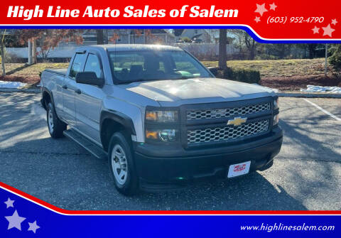 2014 Chevrolet Silverado 1500 for sale at High Line Auto Sales of Salem in Salem NH