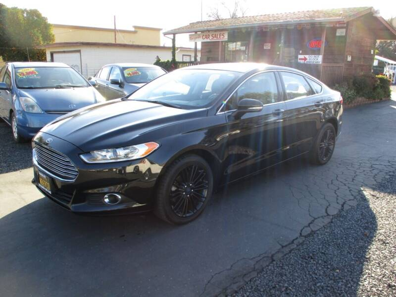 2014 Ford Fusion for sale at Manzanita Car Sales in Gridley CA