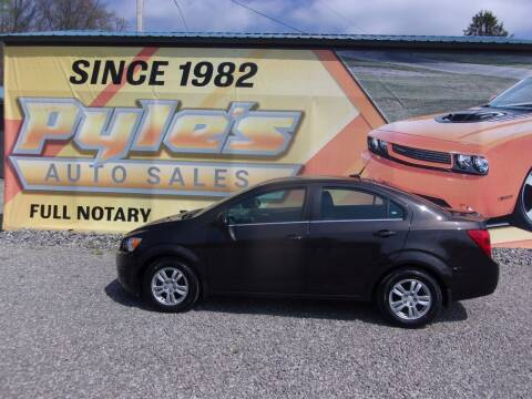 2014 Chevrolet Sonic for sale at Pyles Auto Sales in Kittanning PA