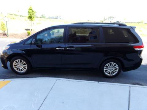 2011 Toyota Sienna for sale at West End Auto Sales LLC in Richmond VA