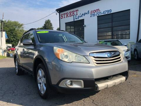 2011 Subaru Outback for sale at Street Visions in Telford PA