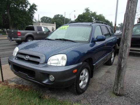 2006 Hyundai Santa Fe for sale at Car Credit Auto Sales in Terre Haute IN