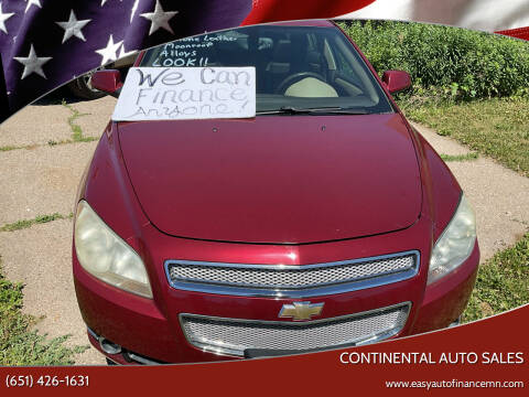 2008 Chevrolet Malibu for sale at Continental Auto Sales in White Bear Lake MN