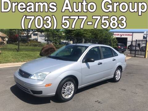 2006 Ford Focus for sale at Dreams Auto Group LLC in Sterling VA