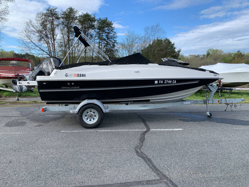 2017 Bayliner 190 DB for sale at Performance Boats in Spotsylvania VA