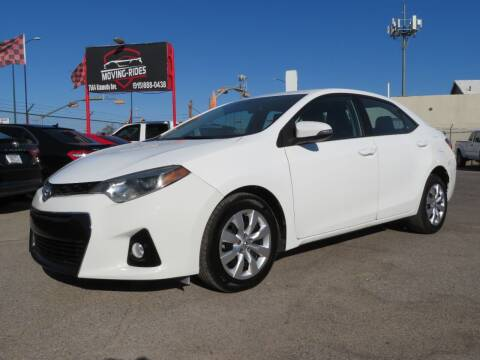 2016 Toyota Corolla for sale at Moving Rides in El Paso TX