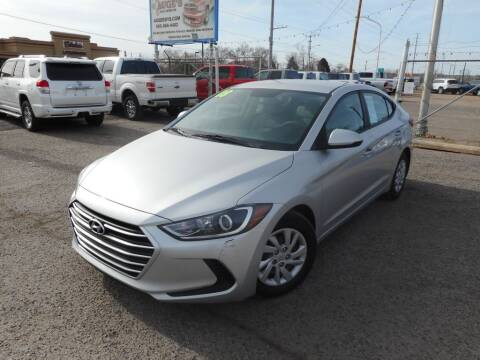 2018 Hyundai Elantra for sale at AUGE'S SALES AND SERVICE in Belen NM