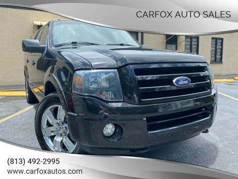 2010 Ford Expedition EL for sale at Carfox Auto Sales in Tampa FL