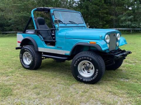 1979 Jeep CJ-5 for sale at Selective Cars & Trucks in Woodstock GA
