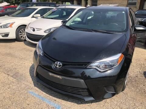 2014 Toyota Corolla for sale at NORTH CHICAGO MOTORS INC in North Chicago IL