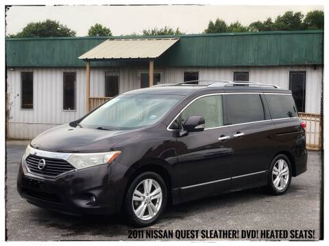 2011 Nissan Quest for sale at ASTRO MOTORS in Houston TX
