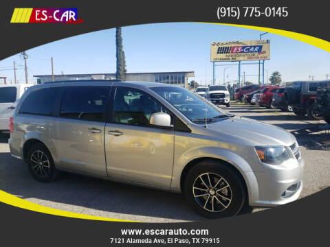 2019 Dodge Grand Caravan for sale at Escar Auto in El Paso TX