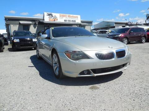 2007 BMW 6 Series for sale at DMC Motors of Florida in Orlando FL