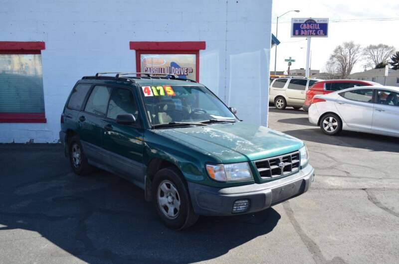 1998 Subaru Forester for sale at CARGILL U DRIVE USED CARS in Twin Falls ID