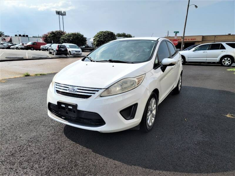 2013 Ford Fiesta for sale at Image Auto Sales in Dallas TX