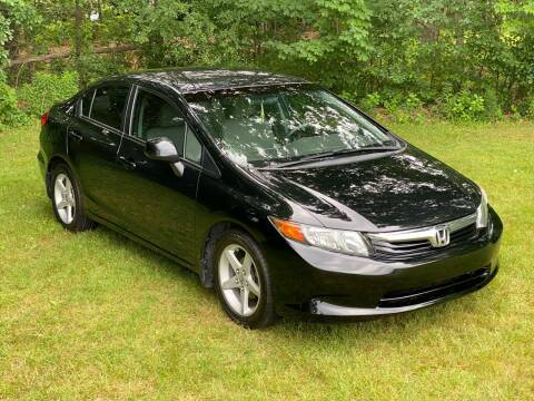 2012 Honda Civic for sale at Choice Motor Car in Plainville CT