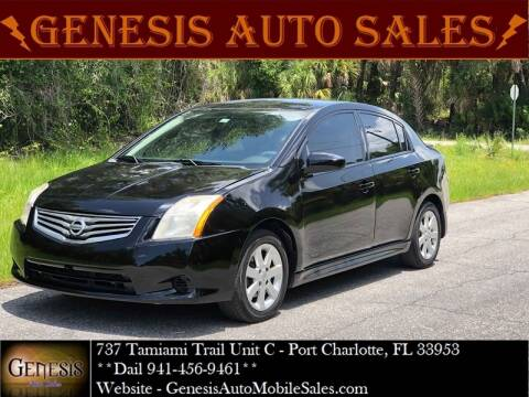 2010 Nissan Sentra for sale at GENESIS AUTO SALES in Port Charlotte FL