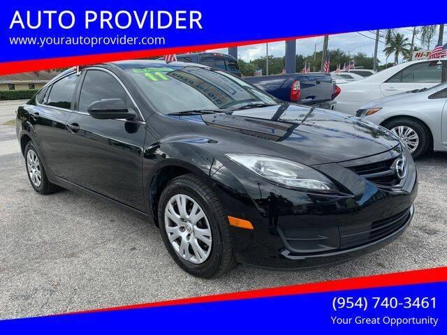 2011 Mazda MAZDA6 for sale at AUTO PROVIDER in Fort Lauderdale FL