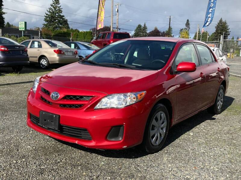 2011 Toyota Corolla for sale at A & V AUTO SALES LLC in Marysville WA