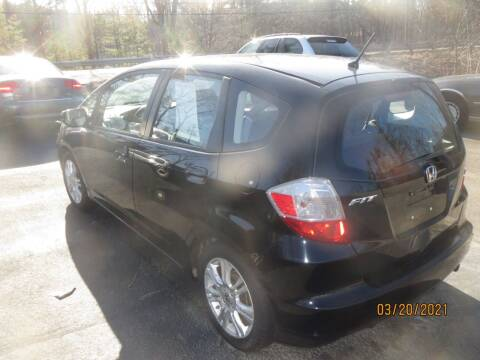 2013 Honda Fit for sale at D & F Classics in Eliot ME