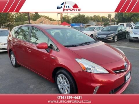 2013 Toyota Prius v for sale at MIKE AHWAZI in Santa Ana CA
