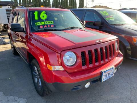 2016 Jeep Patriot for sale at CAR GENERATION CENTER, INC. in Los Angeles CA