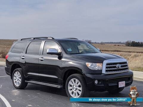 2013 Toyota Sequoia for sale at Bob Walters Linton Motors in Linton IN