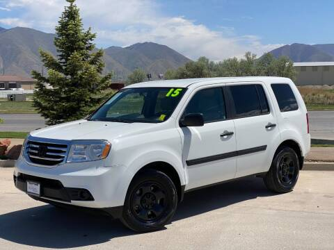2015 Honda Pilot for sale at Evolution Auto Sales LLC in Springville UT