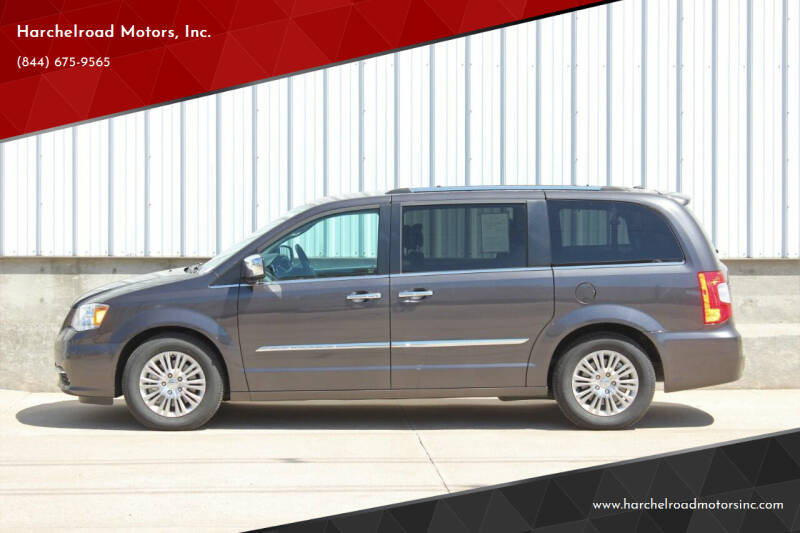 2016 Chrysler Town and Country for sale at Harchelroad Motors, Inc. in Imperial NE