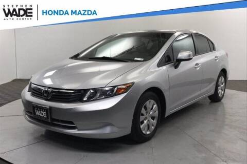 2012 Honda Civic for sale at Stephen Wade Pre-Owned Supercenter in Saint George UT