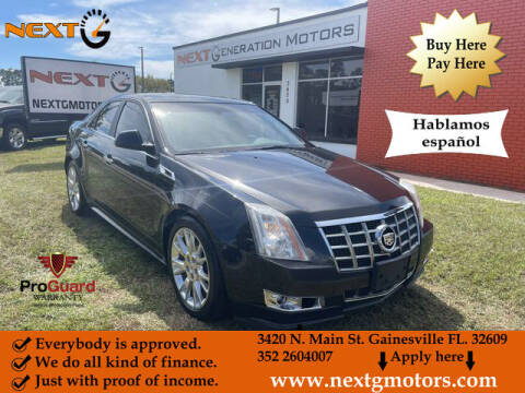 2012 Cadillac CTS for sale at Next G Motors in Gainesville FL