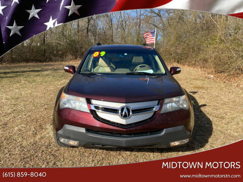 2009 Acura MDX for sale at Midtown Motors in Greenbrier TN