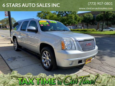 2012 GMC Yukon XL for sale at 6 STARS AUTO SALES INC in Chicago IL
