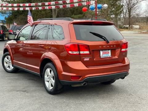 2012 Dodge Journey for sale at Johnson Car Company llc in Crown Point IN