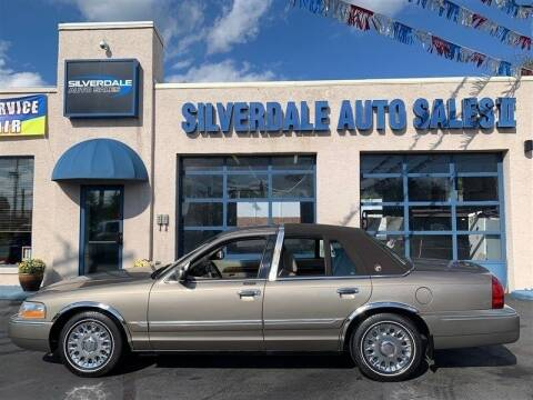2003 Mercury Grand Marquis for sale at Silverdale Auto Sales II in Sellersville PA