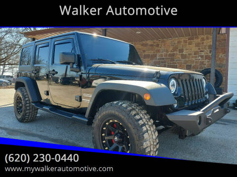 2010 Jeep Wrangler Unlimited for sale at Walker Automotive in Frontenac KS