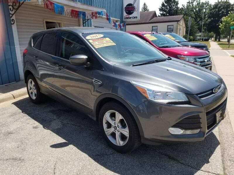2015 Ford Escape for sale at CENTER AVENUE AUTO SALES in Brodhead WI