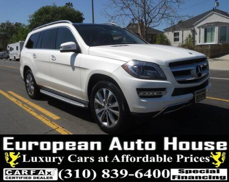2014 Mercedes-Benz GL-Class for sale at European Auto House in Los Angeles CA