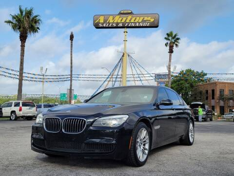 2015 BMW 7 Series for sale at A MOTORS SALES AND FINANCE in San Antonio TX