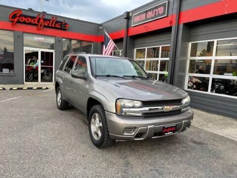 2008 Chevrolet TrailBlazer for sale at Goodfella's  Motor Company in Tacoma WA