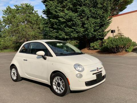 2012 FIAT 500 for sale at First Union Auto in Seattle WA