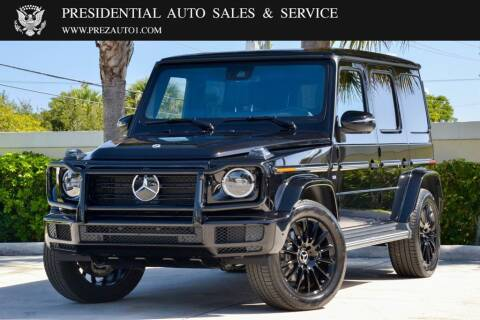 2021 Mercedes-Benz G-Class for sale at Presidential Auto  Sales & Service in Delray Beach FL