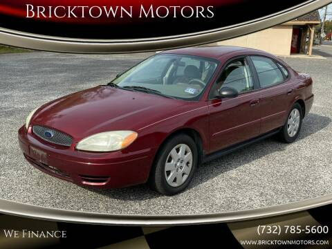 2004 Ford Taurus for sale at Bricktown Motors in Brick NJ